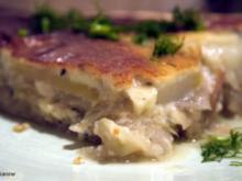 Birnen-Fenchel-Gorgonzola-Tarte - Rezept