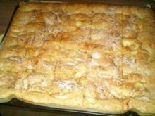 Oma's Apfelkuchen vom Blech - Rezept