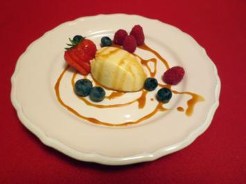 Früchte mit Karamell - Rezept