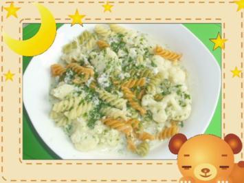 Blumenkohl-Käse-Pasta - Rezept