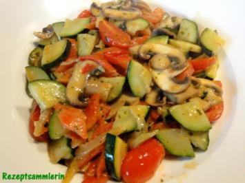 Gemüse:   buntes GEMÜSEPFÄNNCHEN - Rezept