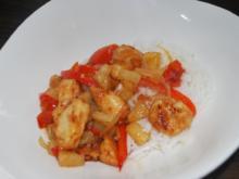 Hähnchenfleisch süß-sauer - Rezept