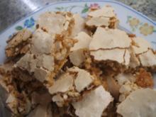 Plätzchen: Krokant-Baiser - Rezept