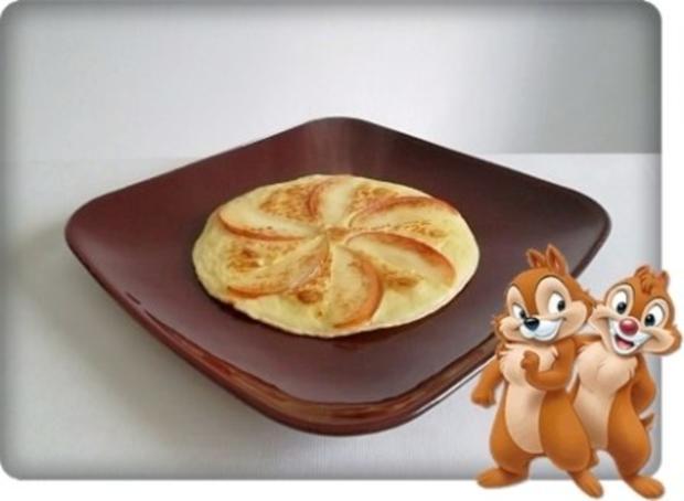 Weihnachtliche  Apfelpfannkuchen - Rezept - Bild Nr. 10