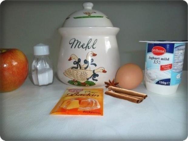 Weihnachtliche  Apfelpfannkuchen - Rezept - Bild Nr. 2