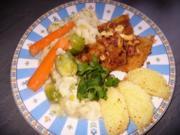 Bauchfleisch mit Gemüsebeilage - Rezept