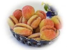 Pfirsich Kekse  Praskovki - Rezept