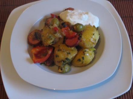 Bunte Kartoffel-Gemüse-Pfanne - Rezept