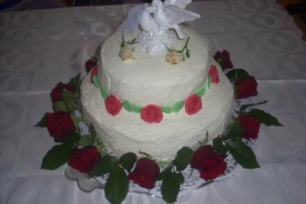 Hochzeits-Torte - Rezept