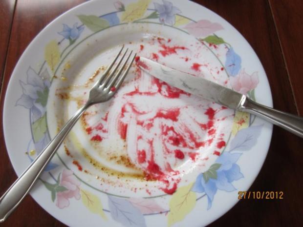 Rote Bete Stampf mit Bratwurst - Rezept - Bild Nr. 2