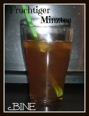 BiNe` S FRUCHTIGER MINZTEE - Rezept - Bild Nr. 5