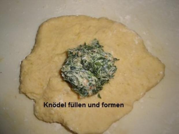 Spinat-Knödel - Rezept - Bild Nr. 7