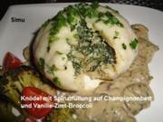 Spinat-Knödel - Rezept