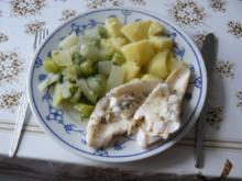 Zanderfilet mit Kohlrabi-Fenchel-Gemüse - Rezept