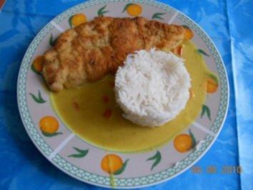 Kochen:Hähnchenschnitzel mit Currysosse - Rezept
