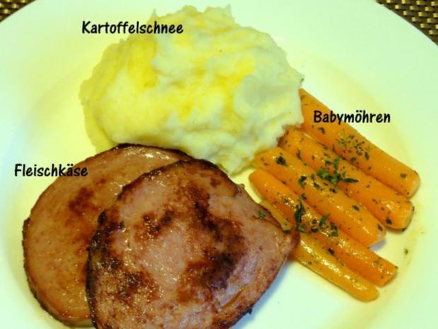 Fleisch:   FLEISCHKÄSE, Babymöhren + Kartoffelbrei - Rezept - Bild Nr. 3