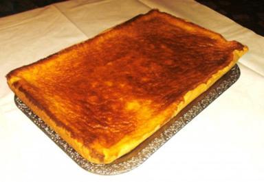 Apfel-Schmand-Blechkuchen - Rezept