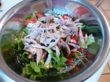 Hähnchensalat (Ein leichtes Abendessen) - Rezept
