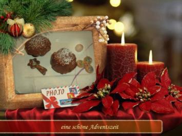 Kuchen : Advent mit Kugel - Rezept