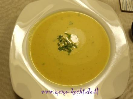 Zucchini-Karotten-Cremesuppe - Rezept