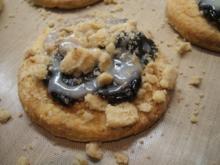 Backen: Kleine Kleckselkuchen aus Quark-Öl-Teig - Rezept