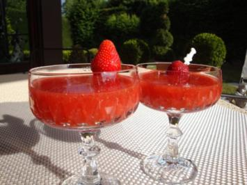 Frozen Strawberry Daiquiri, - Rezept