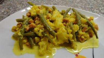 Rezept: B & B Gemüse an Safransauce