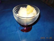 Eis: Ananaseis - Rezept