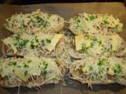 Pizza-Baguette - Rezept