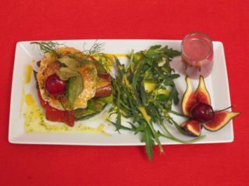 Ziege mit Gemüse und Obst - Rezept