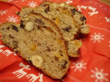 Südtiroler Früchte-Nuss Stollen - Rezept