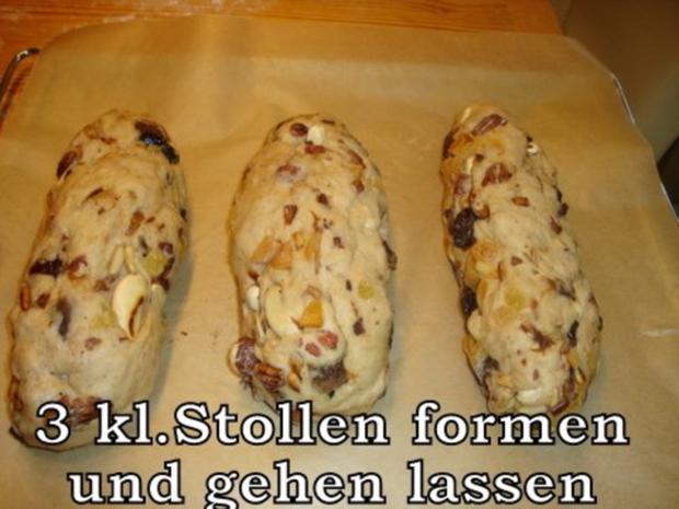Südtiroler Früchte-Nuss Stollen - Rezept - Bild Nr. 12