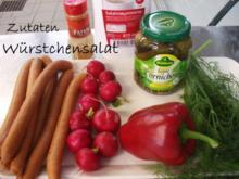 Würstchen- Salat - Rezept