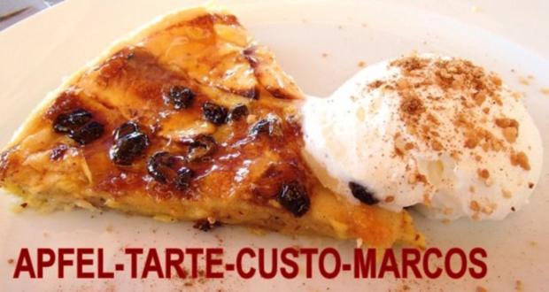 Apfel -Tarte-Gusto-Marcos - Rezept