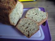 Brot & Brötchen : Dinkelbrot - Rezept frei nach Nase - - Rezept
