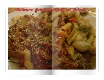 Vegetarisch: Gemüseauflauf im Asiastil - Rezept