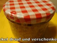 Schoko-Früchtekuchen im Glas - Rezept