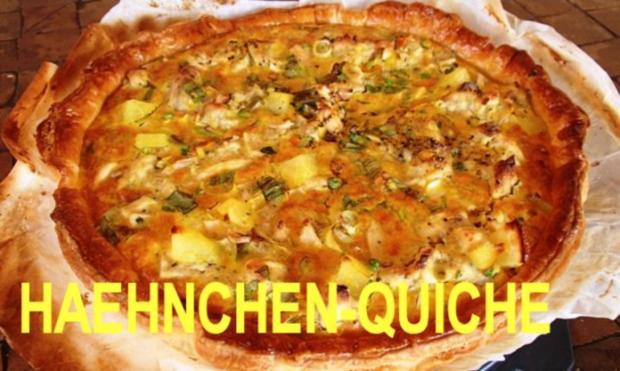HAEHNCHEN AU WHISKY - QUICHE - Rezept