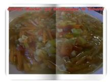 Suppe: Muschel- und Gemüsesuppe â la Gudrun - Rezept