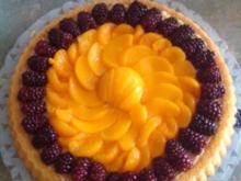 Obstkuchen Fruchtkuchen - Rezept