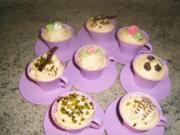 Apfel-Zimt -Cupcake - Rezept