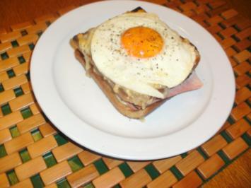 Französisches Toast-Sandwich - Rezept