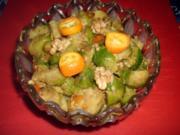 Rosenkohlsalat mit Kumquat - Rezept