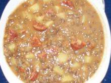Linsentopf mit Chorizo - Rezept