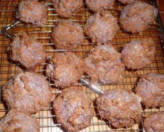 Rezept: Weihnachtsgebäck : kokos -Berge