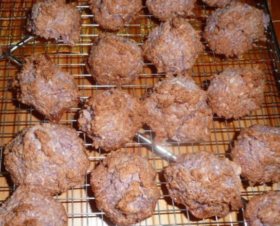 Weihnachtsgebäck : kokos -Berge - Rezept