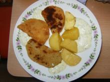 Paniertes Kohlgemüse mit Kartoffeln - Rezept