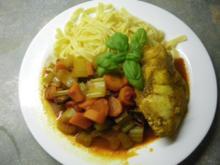 Hühnchen mit Gemüse - Rezept