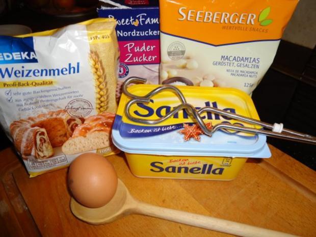 Feiner Macadamia Keks - Rezept - Bild Nr. 2