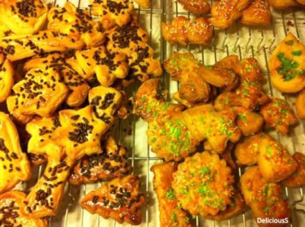 Ausstecher | Gutsle | Weihnachtsplätzchen | Plätzchen | Butterplätzchen - Rezept